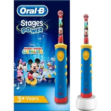 Şarj Edilebilir Diş Fırçası Çocuklar İçin Mickey D10-Oral-B